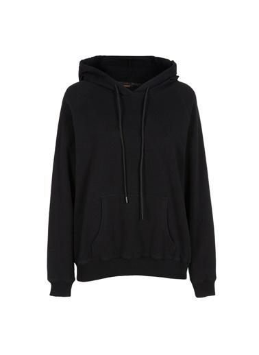 Gusto Kadın Siyah  Sweatshirt 21KG002002 Siyah
